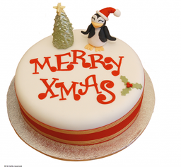 Christmas Cake Redondo Santa Luzia 500 g