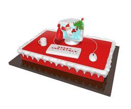 Christmas Cake Retangular Santa Luzia 520 g