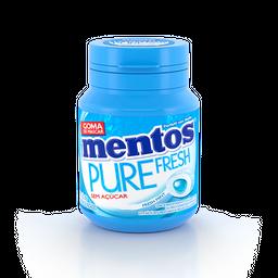 Goma Mentos Fresh Mint Sem Açúcar Pure 56 g