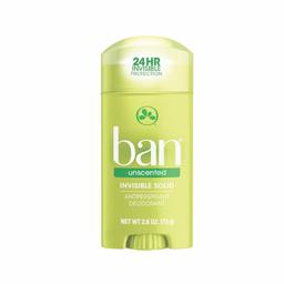 Desodorante Ban Solido Unscented 73 g