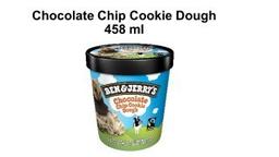 Sorvete Ben Jerrys Chocolate Chip Cookie 458 mL