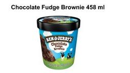 Sorvete Ben Jerrys Chocolate Fudge Brownie 458 mL
