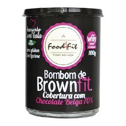 Brownie Fit Sem Glúten Lacta Com Whey 100 g