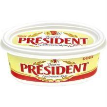 Manteiga President Sem Sal Pote 250 g
