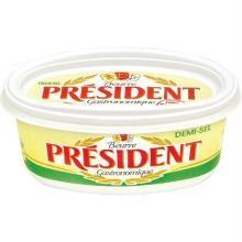 Manteiga President Com Sal Pote 250 g