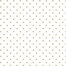 Guardanapo De Algodão Designer Fundo Branco E Flor Dourada