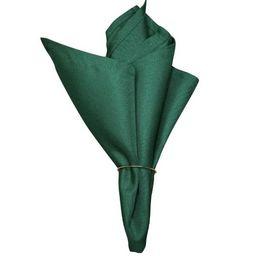 Guardanapo De Algodão Verde Escuro Liso