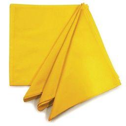 Guardanapo De Algodão Amarelo Ouro Liso
