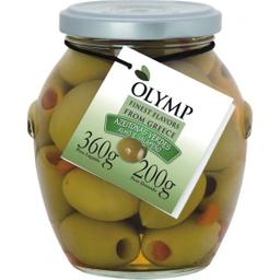 Azeite Olymp Verde Com Alho E Pimenta 200 g
