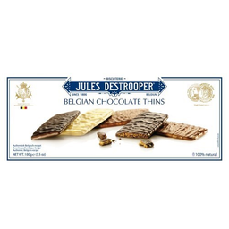 Biscoito Jules Chocolate Thins Destrooper 100 g