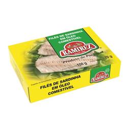 Sardinha Ramirez Óleo Filé 100 g