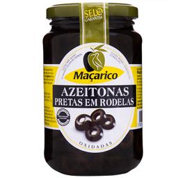 Azeitona Macarico Preta Rodelas 345 g