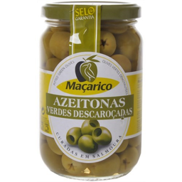 Azeitona Macarico Verde Sem Caroço 165 g