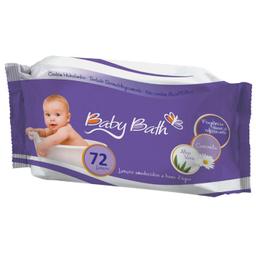 Lenço Umedecido Baby Bath Premium