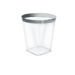 Copo Silver Plástico 285 mL 12 Und