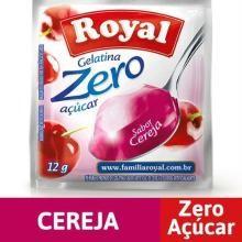 Gelatina em pó ROYAL Zero Cereja 12g