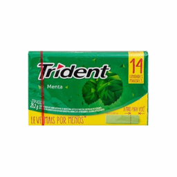 Goma de mascar Trident Menta 25,2g