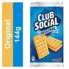 Biscoito Club Social Original Nabisco 144 g
