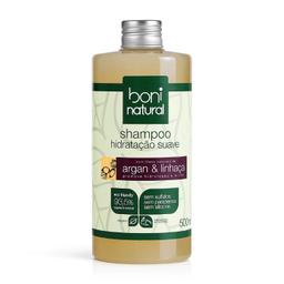 Shampoo Boni Argan E Linhaça 500 mL
