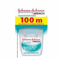 Fio Dental Johnson Essencial Menta 100M