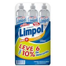 Detergente Limpol Cristal 500 mL