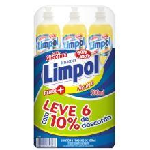 Detergente Limpol Neutro 500 mL