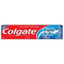 Creme Dental Colgate Tripla Ação Hortelã 90 g