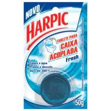 Harpic Tablete Caixa Acopla Pastilha 50 g