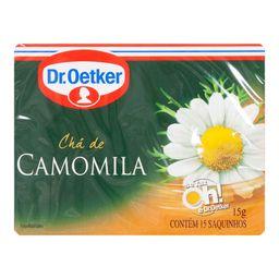 Chá Oetker Camomila 15 g