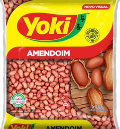 Amendoim Yoki Cru 500 g