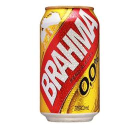 Cerveja Brahma Zero Álcool 350 mL