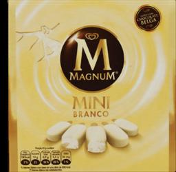 Sorvete Kibon Magnum White 55 mL 5 Und