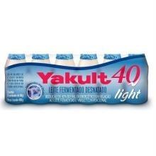 Leite Fermentado Yakult 40 Light 80 g 6 Und
