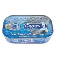 Sardinhas Gomes da Costa Óleo 125 g