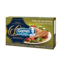 Filé Sardinha Gomes da Costa Azeite Extra Virgem 125 g