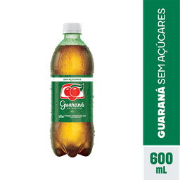 Refrigerante Guaraná Antarctica Zero Pet 600 mL