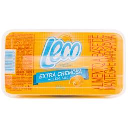 Manteiga Margarina Leco Extra Cremosa Sem Sal 200 g