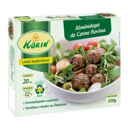 Almôndega Bovina Korin 500 g