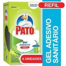 Pato Gel Adesivo Citrus Refil 6 Discos