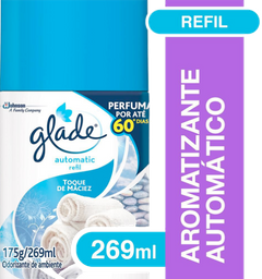 Glade Automatic Refil Toque Maciez 296 mL