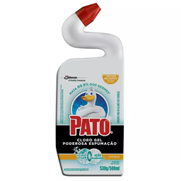 Desinfetante Pato Cloro Gel Poderosa Espumação Citrus 500 mL