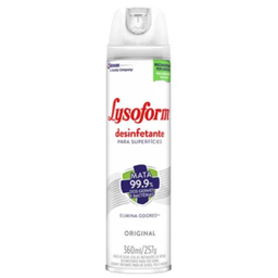 Desinfetante Lysoform Spray Original 300 mL