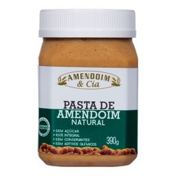 Creme Amendoim Natural M.Alba 390 g