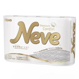 Papel Higiênico Neve Premium Folha Tripla 6 Und