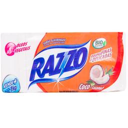 Sabão Barra Razzo Coco 5 Und 200 g