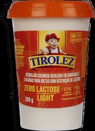 Requeijão Tirolez Sem Lactose Light 200 g