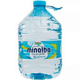 Água Minalba Sem Gás 5 L