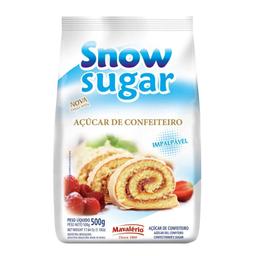 Açúcar Snow Sugar Confeiteiro 500 g