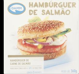 Salmão Hamburguer 360 g