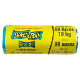 Saco Lixo Dover Roll 50L Super Forte